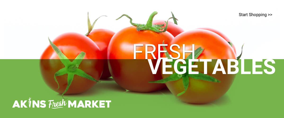 Akins Fresh Market | Fresh Vegetables